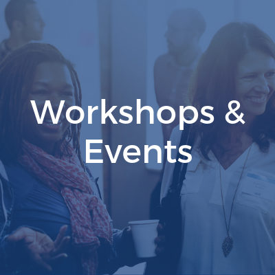 Workshops and events cover image