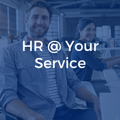 HR @ Your Service blue cover
